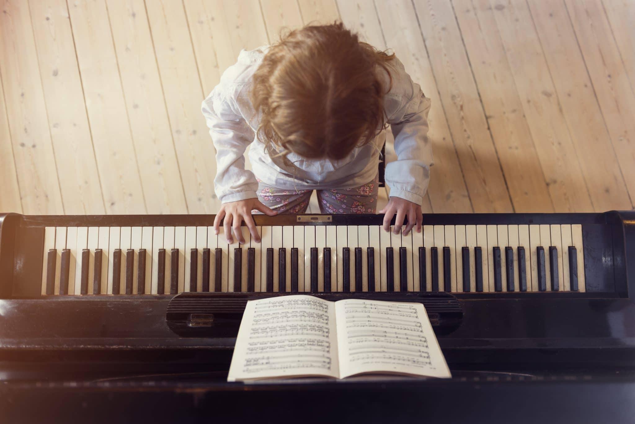cours de piano pour enfants