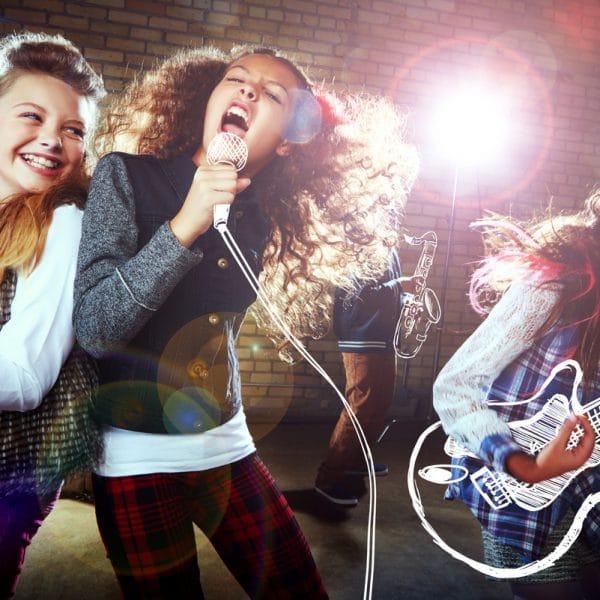cours de chant pour enfants